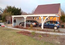 Aufbau Flachdach Carport von Easycarport 14