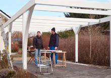 Aufbau Flachdach Carport von Easycarport 4
