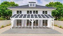 Solarterrassendach