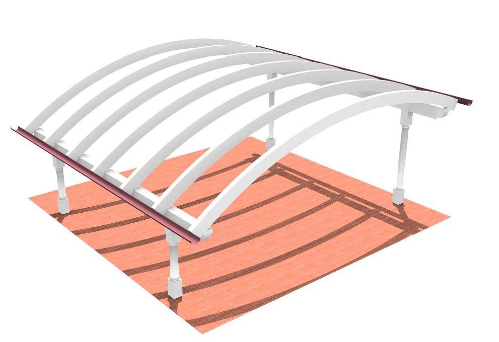 Bogendach carport my