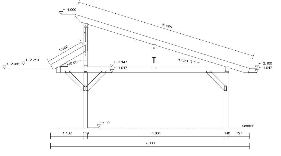 pultdach x preise. Black Bedroom Furniture Sets. Home Design Ideas