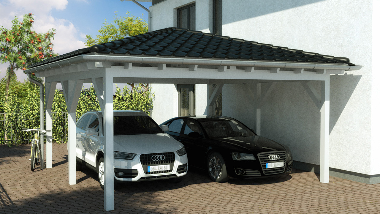 aktion carport mit walmdach x m walmdach preise. Black Bedroom Furniture Sets. Home Design Ideas