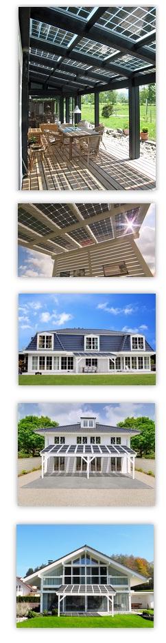 terrassendach solar 6 x 3 m terrassen berdachung mit photovoltaik verschattung ebay. Black Bedroom Furniture Sets. Home Design Ideas
