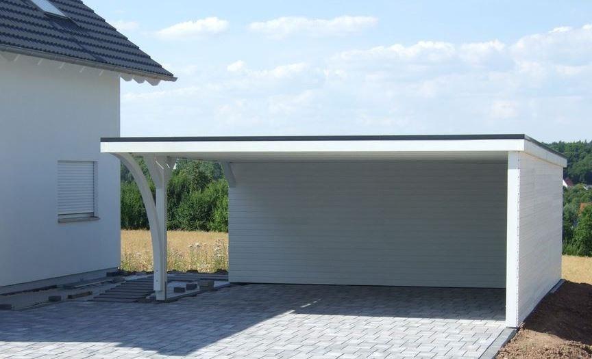 Flachdach carport einfach und unkompliziert ihr flachdach