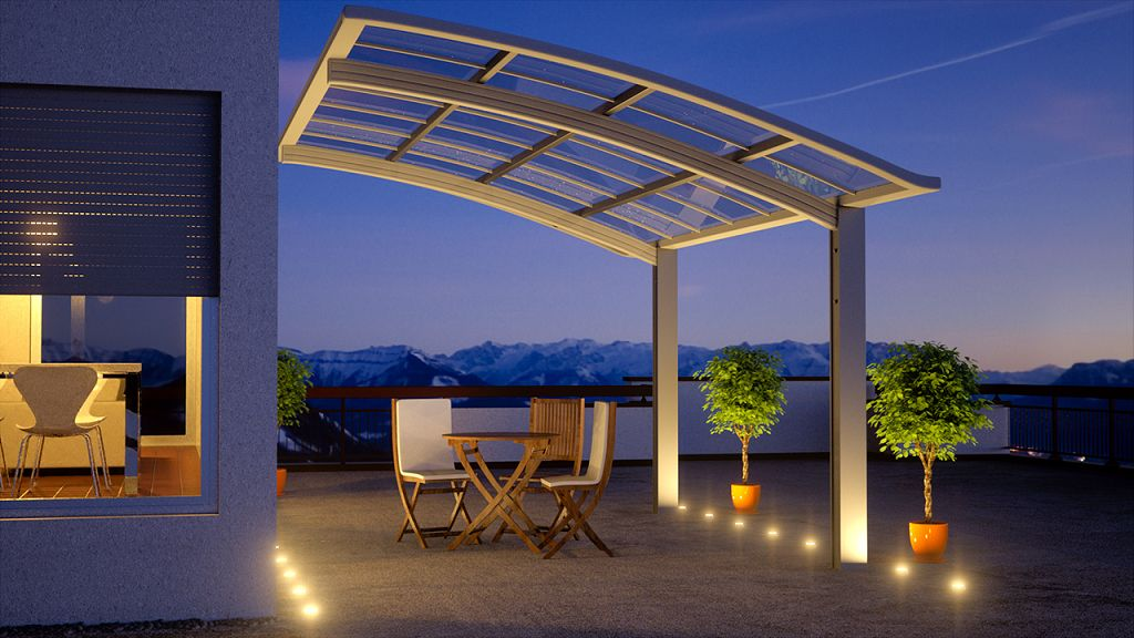 alu carport bausatz. Black Bedroom Furniture Sets. Home Design Ideas