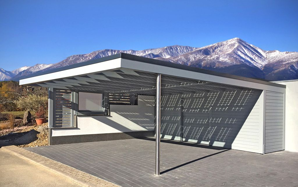 carport metallbau. Black Bedroom Furniture Sets. Home Design Ideas