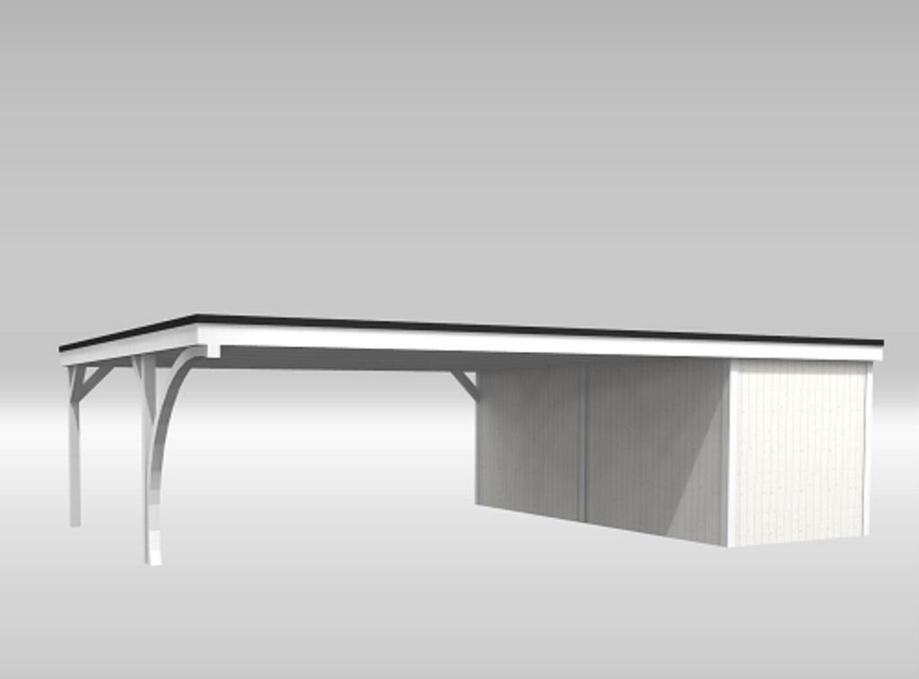 doppelcarport mit ger teraum. Black Bedroom Furniture Sets. Home Design Ideas