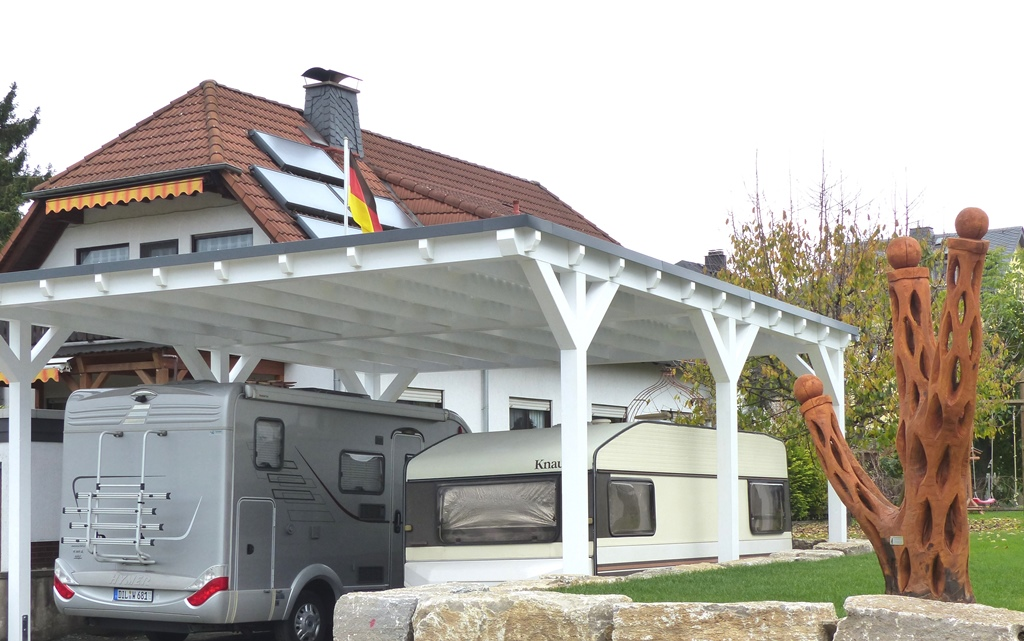 wohnmobil carport. Black Bedroom Furniture Sets. Home Design Ideas