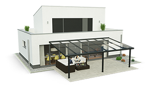 Aluminium Terrassendach Konfigurator
