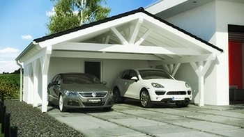 carport mit ger teraum praktische und innovative l sung. Black Bedroom Furniture Sets. Home Design Ideas