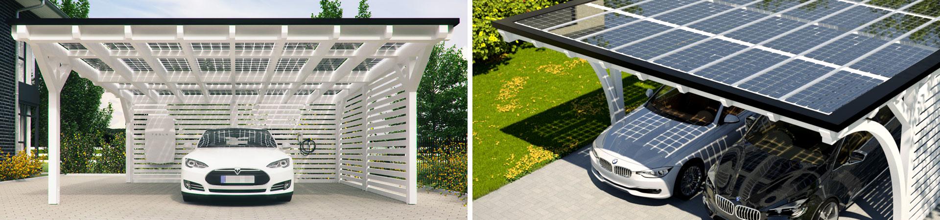 solarcarport der perfekte partner f r ein elektroauto im ratgeber auf. Black Bedroom Furniture Sets. Home Design Ideas
