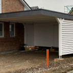 Carport als Homeoffice