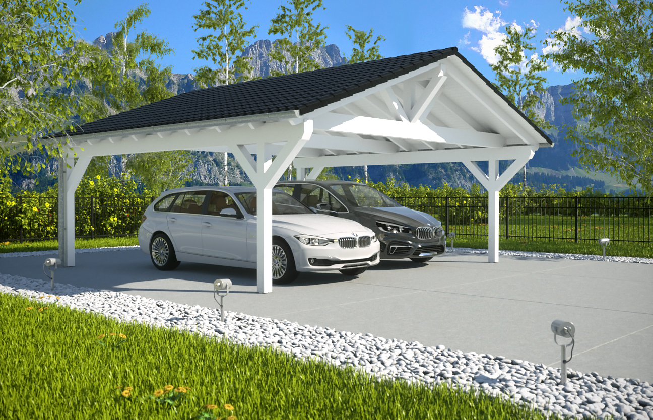 spitzdachcarport. Black Bedroom Furniture Sets. Home Design Ideas