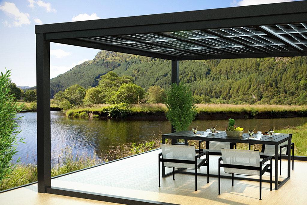 Terrassendach Freistehend , Easy Terrassendach Ihr Neues Terrassendach Aus Aluminium Mit 10mm