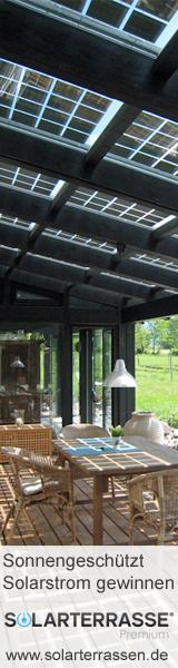 Solarterrasse & Solarcarport