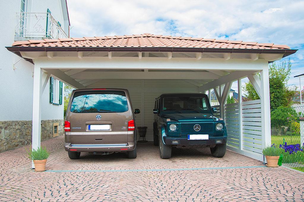 Walmdach carport selbst konfigurieren und kaufen bei easycarport