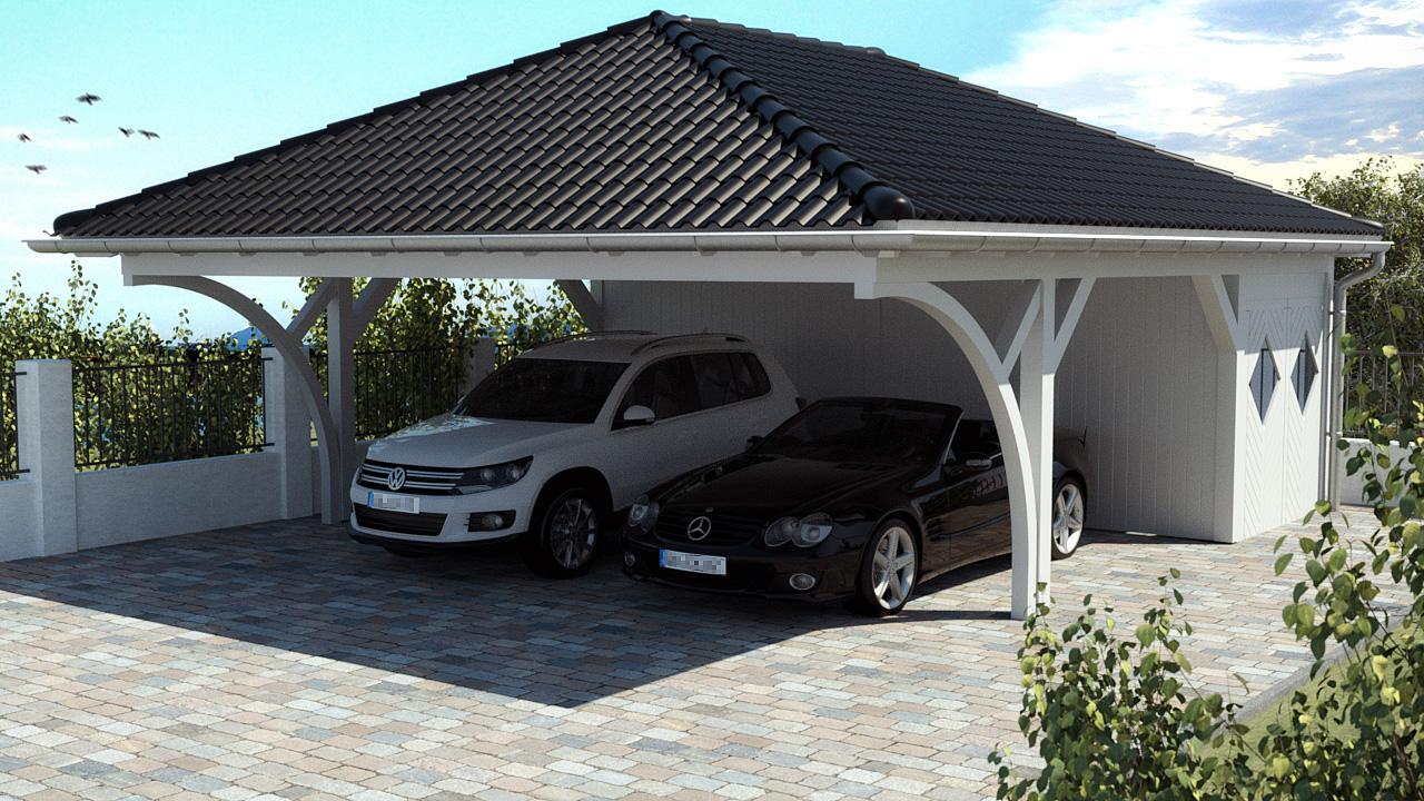 walmdach carport stellen sie sich jetzt ihr walmdach carport einfach und unkompliziert zusammen. Black Bedroom Furniture Sets. Home Design Ideas