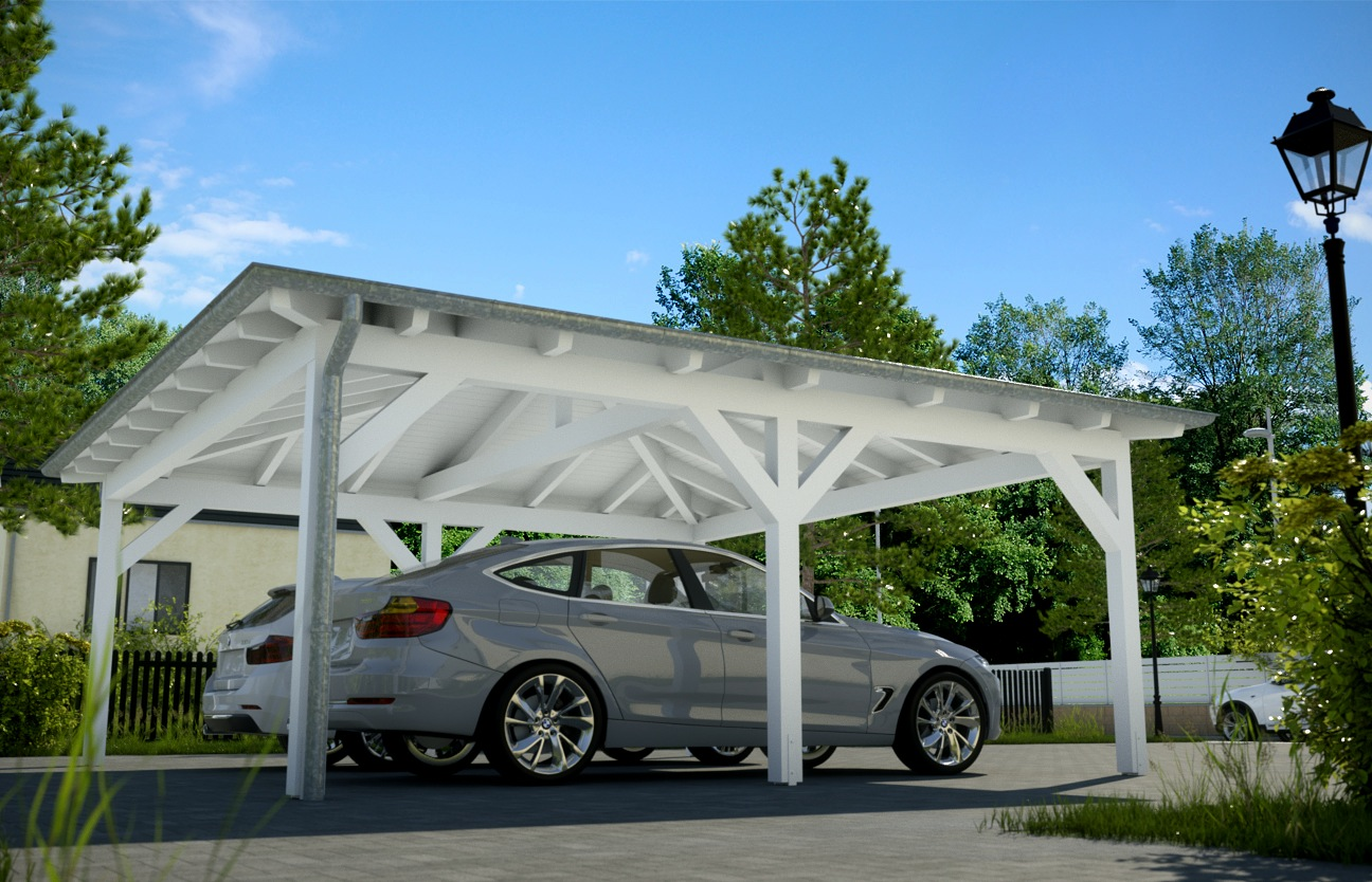kosten carport mit abstellraum mhb carports holz carport. Black Bedroom Furniture Sets. Home Design Ideas